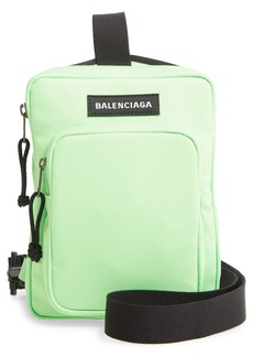 Balenciaga Explorer Nylon Crossbody Messenger Bag
