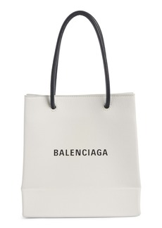 Balenciaga Extra Extra Small AJ Leather Shopper Tote