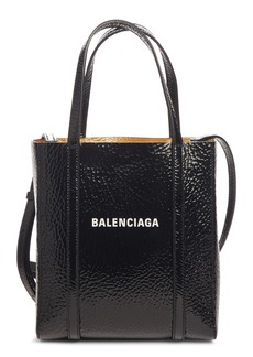 Balenciaga Extra Extra Small Bazar Patent Leather Shopper