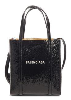 Balenciaga Extra Extra Small Bazar Patent Leather Shopper