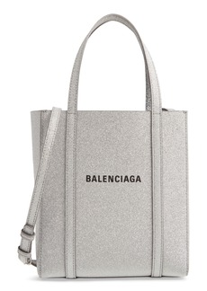 Balenciaga Extra Extra Small Everyday Glitter Leather Tote