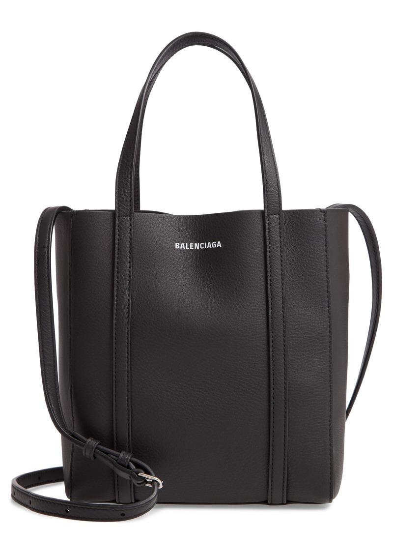 Balenciaga Extra Extra Small Everyday Logo Calfskin Tote