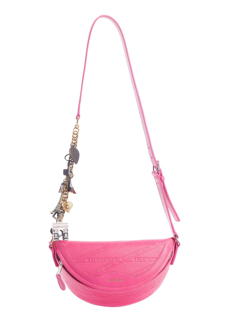 Balenciaga Extra Extra Small Souvenir Leather Belt Bag
