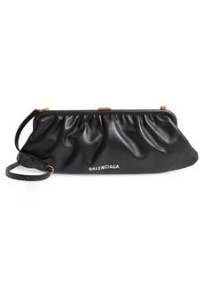 Balenciaga Extra Large Cloud Leather Clutch