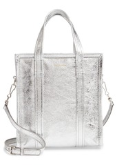Balenciaga Extra Small Bazar Metallic Lambskin Leather Shopper