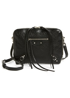 Balenciaga Extra Small Classic Reporter Leather Shoulder Bag