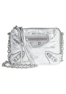 Balenciaga Extra Small Classic Reporter Leather Crossbody Bag