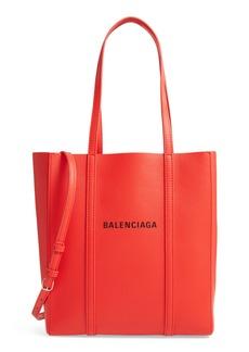 Balenciaga Extra Small Everyday Logo Calfskin Tote