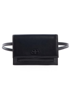 Balenciaga Extra Small Sharp Leather Belt