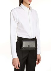 Balenciaga Extra Small Sharp Leather Belt