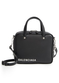 Balenciaga Extra Small Triangle Leather Satchel