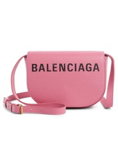 Balenciaga Extra Small Ville Calfskin Saddle Bag