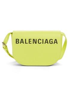 Balenciaga Extra Small Ville Day Calfskin Saddle Bag