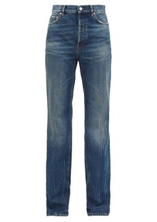 Balenciaga Faded straight-leg jeans