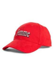 Balenciaga Femme Logo Baseball Hat