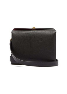 Balenciaga Flap S grained-leather shoulder bag