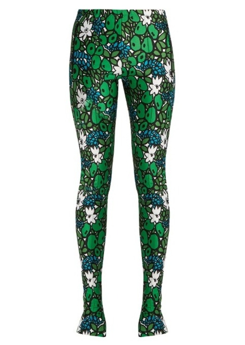 74511b02cb3aa Balenciaga Balenciaga Floral-print bonded-jersey leggings | Casual Pants