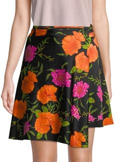 Balenciaga Floral Wrap Skirt