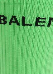 Balenciaga Fluorescent Tennis Socks