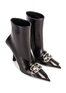 Balenciaga Fringe Knife Booties