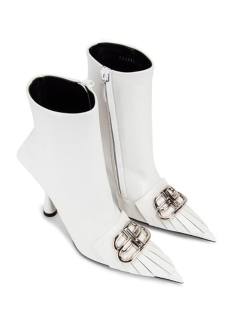 Balenciaga Fringe Knife Booties