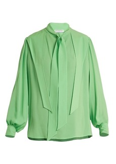 Balenciaga Gathered blouse