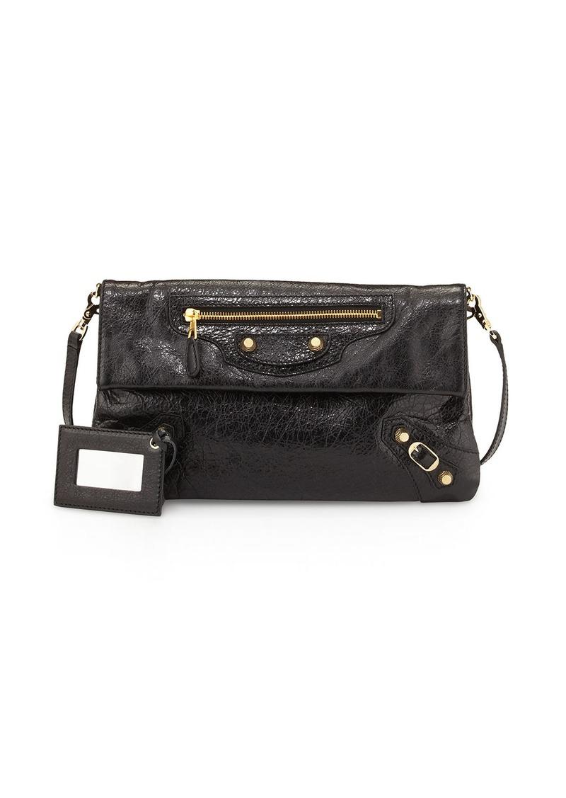0744c2fb78 Balenciaga Giant 12 Golden Envelope Clutch Bag with Strap