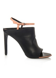 Balenciaga Glove bi-colour leather sandals
