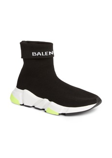 Balenciaga Hi Speed Logo Sock Sneaker (Women)