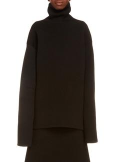 Balenciaga High Neck Oversize Sweater
