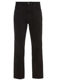 Balenciaga High-rise cropped straight-leg jeans