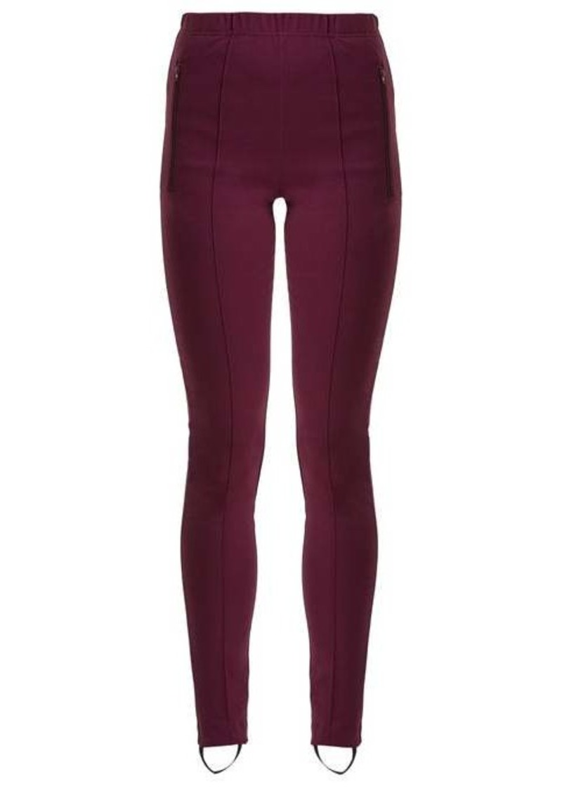 Balenciaga High-rise stirrup leggings