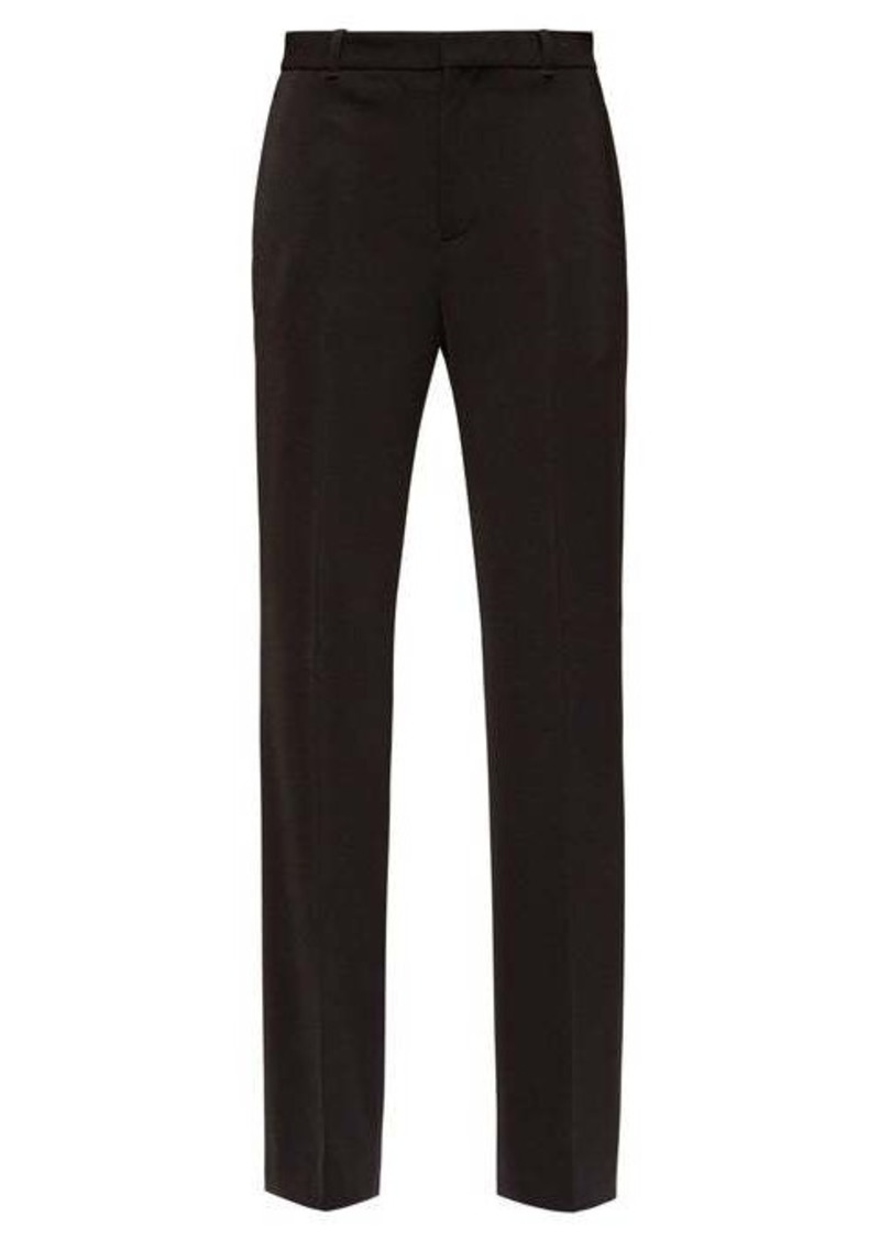Balenciaga High-rise tailored trousers