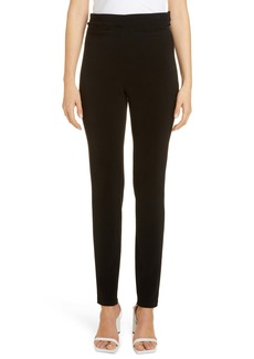 Balenciaga High Waist Crepe Leggings