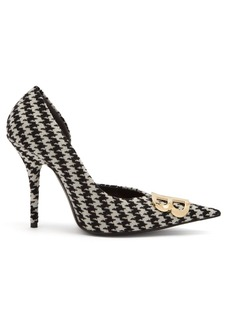 Balenciaga Houndstooth BB pumps