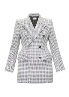 Balenciaga Hourglass double-breasted wool-blend jacket