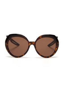 Balenciaga Hybrid Butterfly tortoiseshell-acetate sunglasses