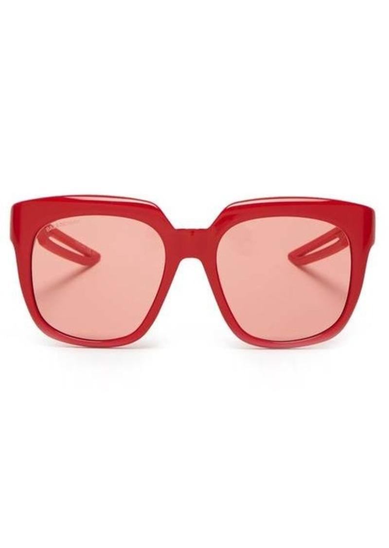 Balenciaga Hybrid D-frame acetate sunglasses