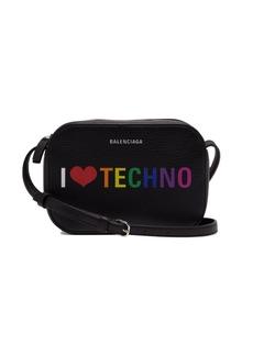 Balenciaga I Love Techno Everyday Camera XS leather bag
