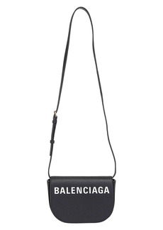 Balenciaga Inlaid Logo Shoulder Bag