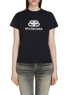 Balenciaga Interlock BB Logo Tee