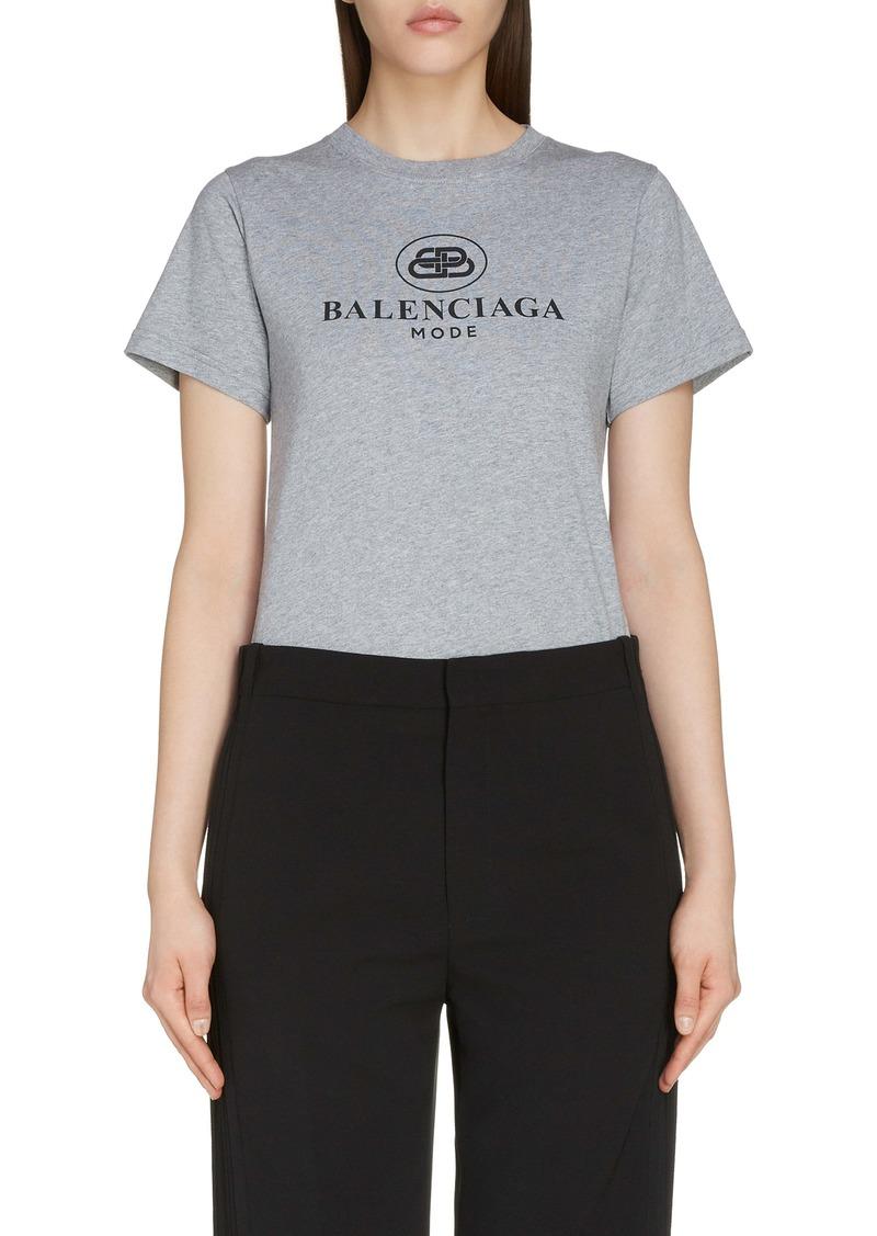 Balenciaga Interlocking BB Mode Logo Tee