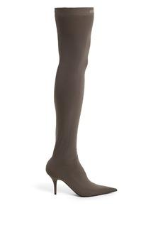 Balenciaga Knife over-the-knee booties