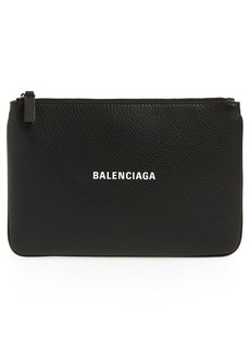Balenciaga Large Everyday Calfskin Pouch