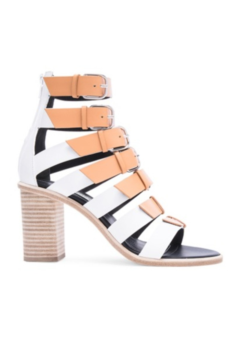 Balenciaga Leather Buckle Heels