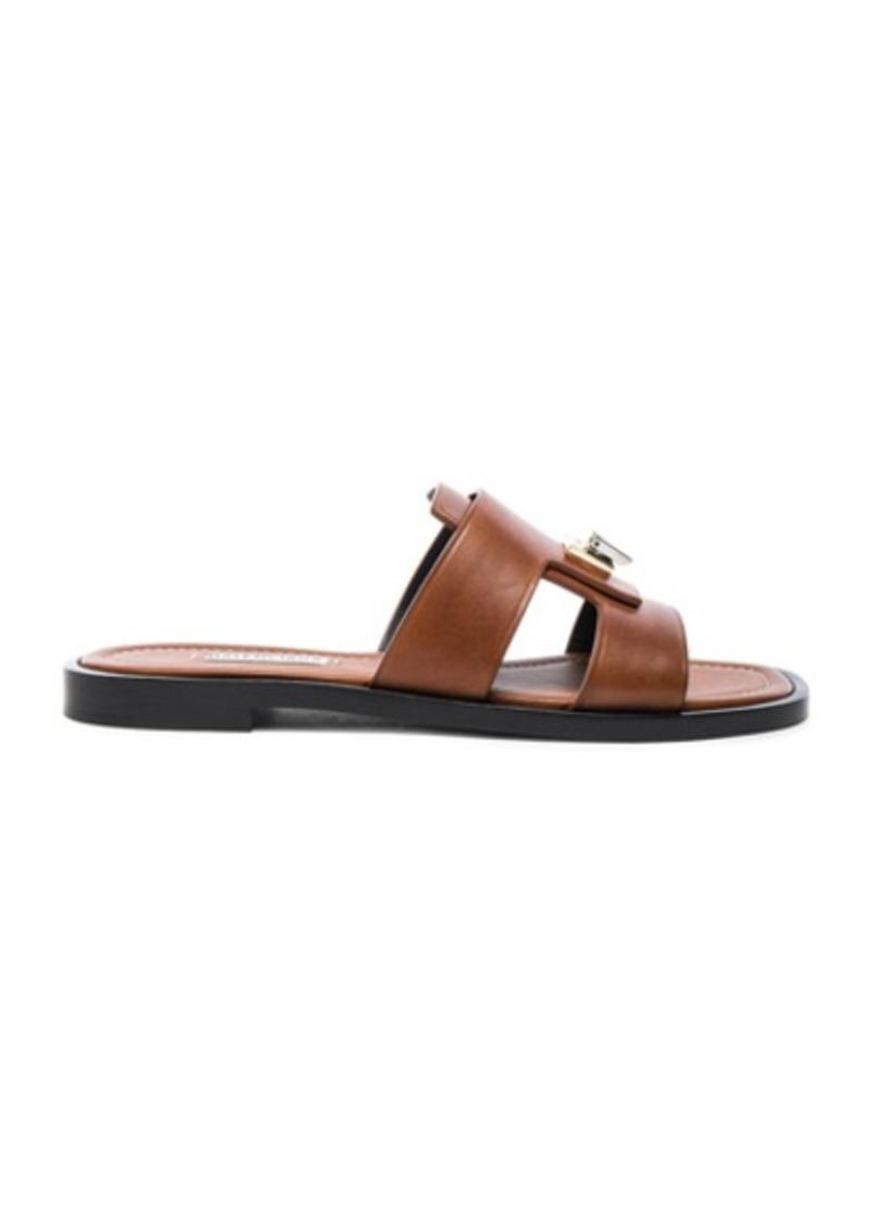 Balenciaga Leather Mule Sandals
