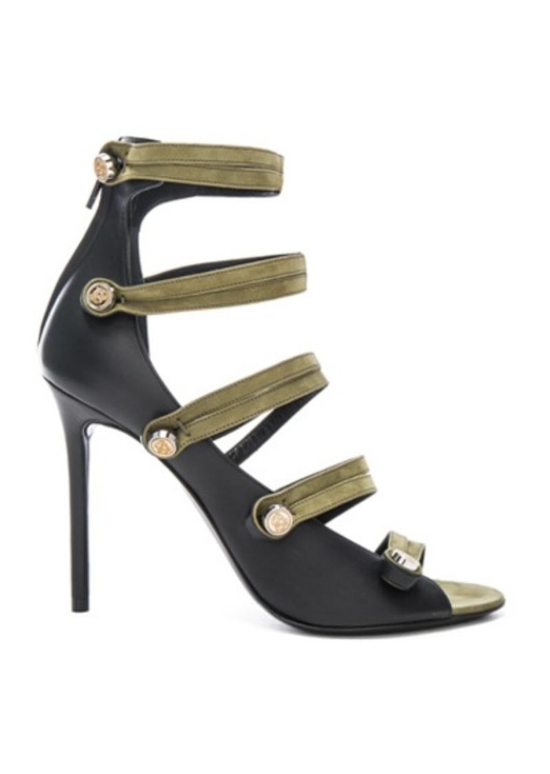 Balenciaga Leather Strap Heels