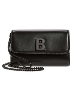 Balenciaga Leather Wallet on a Chain