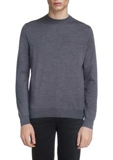 Balenciaga Logo Crewneck Wool Sweater