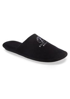 Balenciaga Logo Embroidered Slipper (Men)